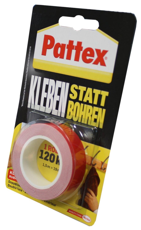 Pattex PXMT2 Kleben statt Bohren Montage Klebeband, superstark, 19 ...