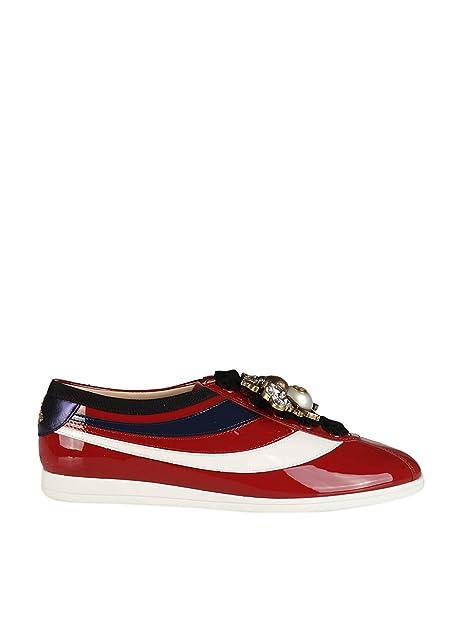 GUCCI - Zapatillas de Gimnasia Mujer, rojo (rojo), 37: Amazon.es: Zapatos y complementos