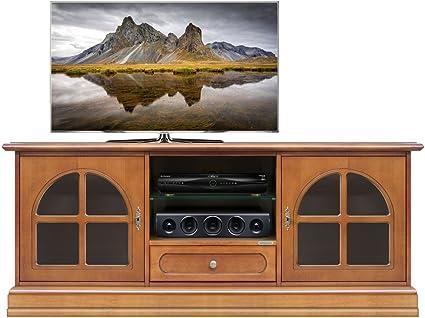 Kersenhouten Tv Kast Te Koop.Tv Meubel Breedte 150 Cm Van Massief Hout In Kersenhout