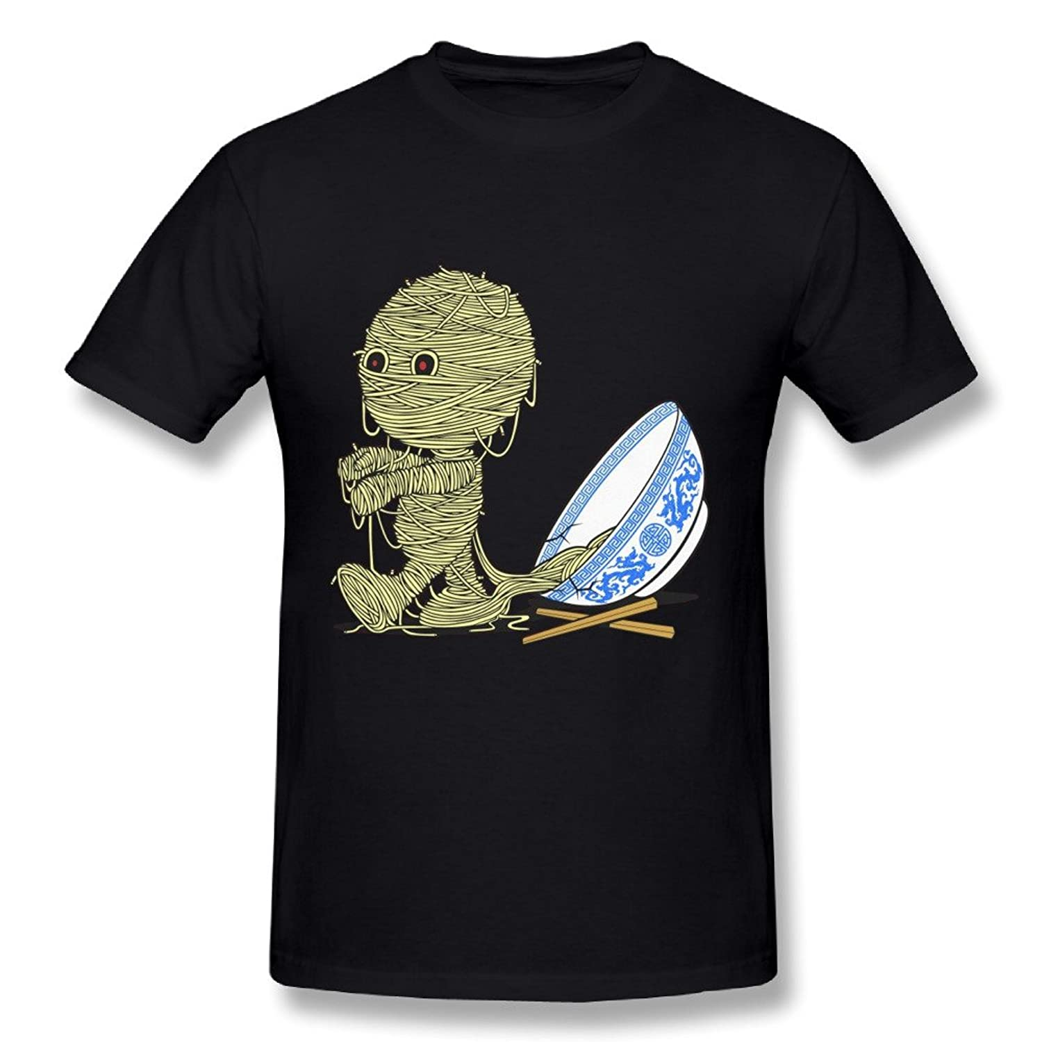 Ramen Mummy Return Man Short Sleeve Tshirt Black