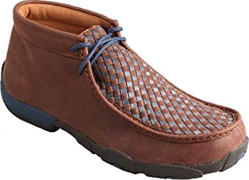 765e41f67df Amazon.com  Twisted X Men s Woven Driving Mocs  Shoes
