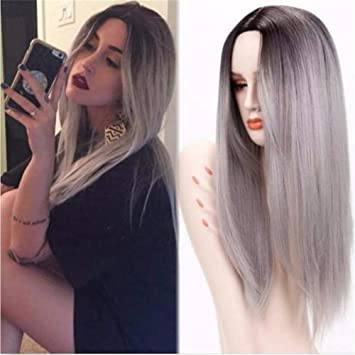 Dj cheveux long noir