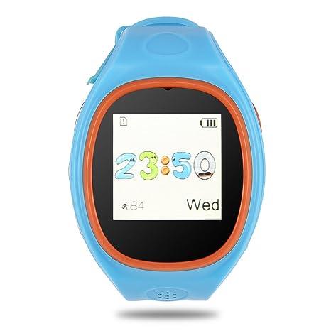 Amazon.com: Reloj inteligente Richer-R, reloj infantil SOS ...
