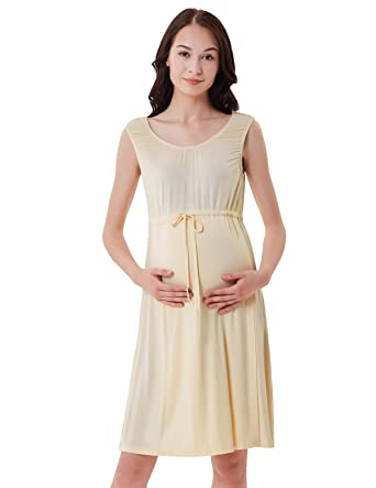 Labor and delivery Gown for Maternity Hospital Nursing Dress S Apricot.  Roll over image to zoom in c22f50891