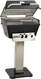 product image for Broilmaster P4-xfn Premium Natural Gas Grill On Stainless Steel Patio Post