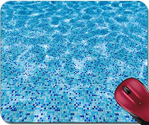 Liili Mousepad ID: 23118070 Swimming pool surface and blue mosaic tiles