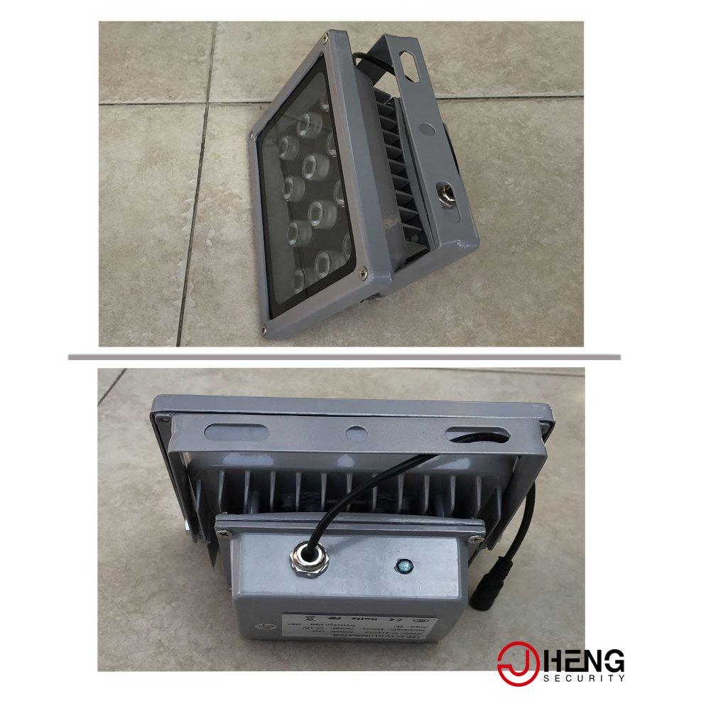JC 12 LED telecamera di sorveglianza a infrarossi per visione notturna a raggi infrarossi luce illuminazione lampada 40 m per CCTV e IP Camera