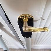 Buddybar Door Jammer Home Security Door Bar - Door Stops ...