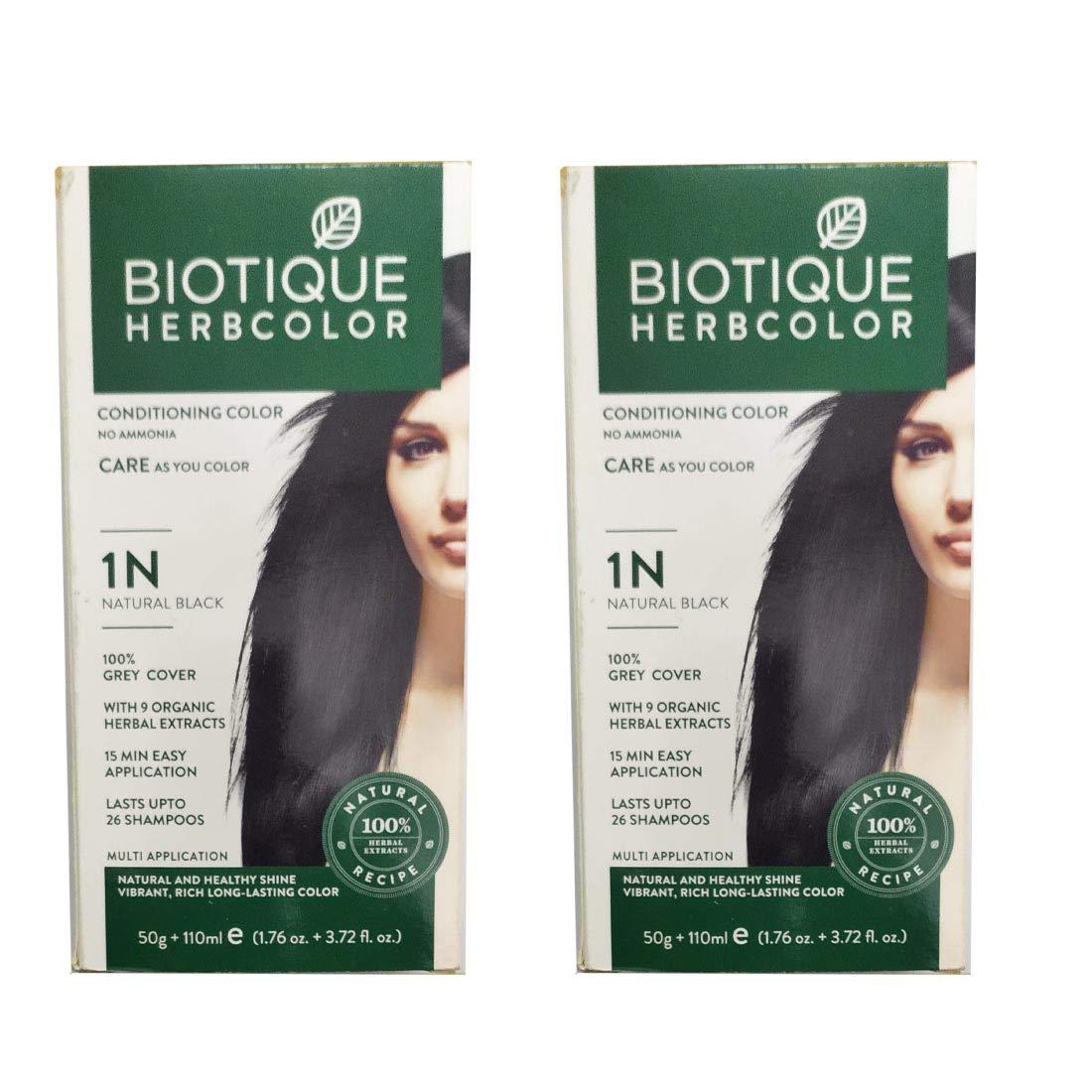 Biotique Hair Color Black
