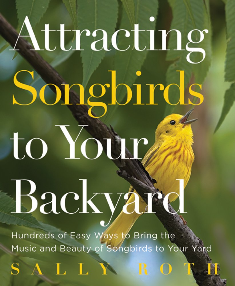 attracting songbirds to your backyard sally roth amazon com books