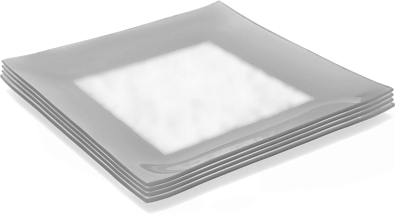 Amazon.com: GAC Conjunto de 4 tamaño grande de vidrio ...