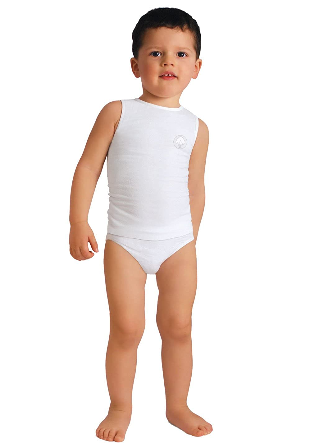 one Size 6-36 Months RelaxMaternity Baby 5940 Cotton Boys /& Girls Vest