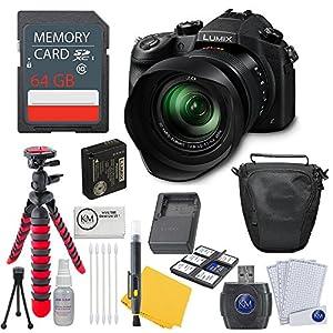 Panasonic Lumix DMC-FZ1000 Digital Camera + 64GB Card + Photo Accessory Bundle