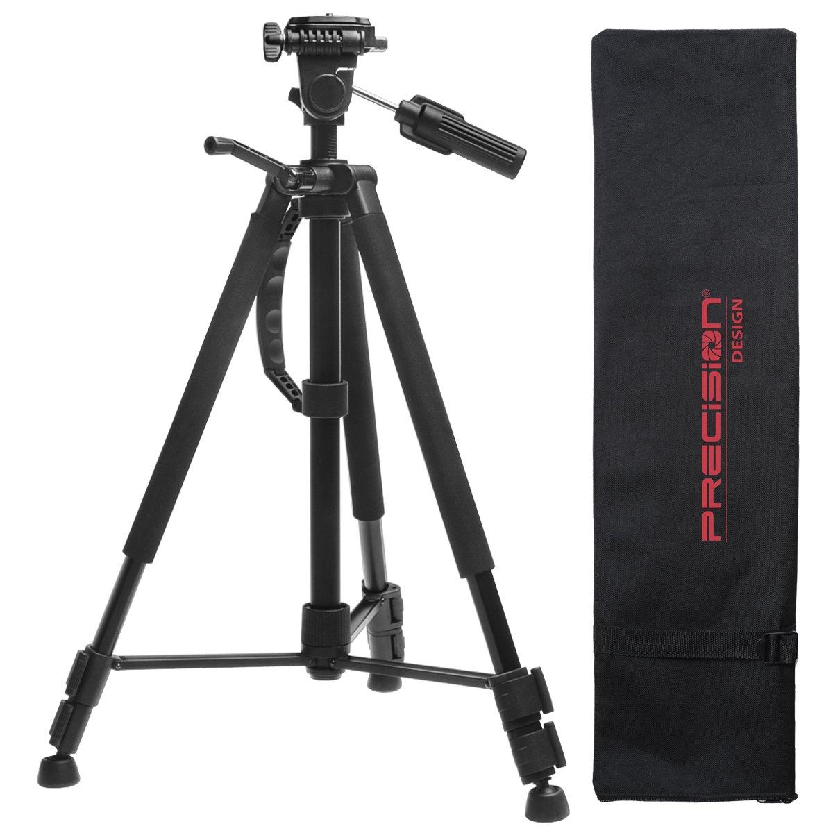 Nikon Digital & Film SLR System Case Gadget Bag + Deluxe Tripod for D40, D60, D3000, D3100, D5000, D5100, D7000, D300s, D3, D3s & D3x Cameras