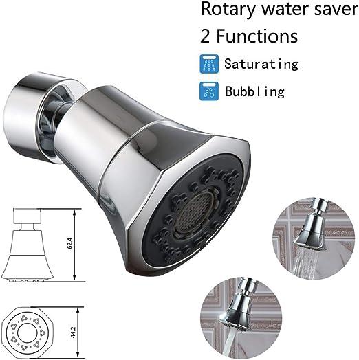 Manual Kitchen Faucet Bubbler Water Saving Bathroom Shower Head Filter Nozzle