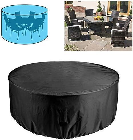 ZXYMUU Funda para Mesa Jardin Fundas Muebles Exterior Impermeable 420D Oxford Muebles de Jardin Cubierta Protectora Anti-UV,239 * 58cm: Amazon.es: Deportes y aire libre