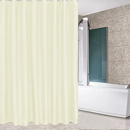 Image Unavailable Not Available For Color Eforcurtain Extra Long 72 By 75 Inch Solid Hotel Shower Curtain