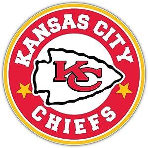 Kansas City Chiefs NFL Sport Logo Decal 12'' X 12''