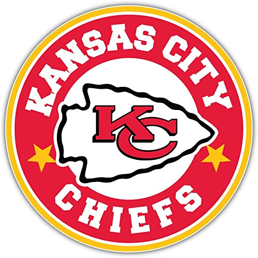 Amazon Com Kansas City Chiefs Nfl Sport Logo Decal 12 X 12 Kitchen Dining
