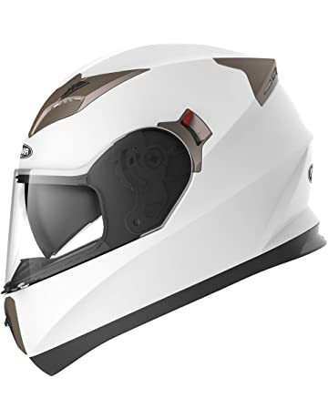 YEMA Casco Moto Integral ECE Homologado YM-829 Casco de Moto Scooter para Mujer Hombre