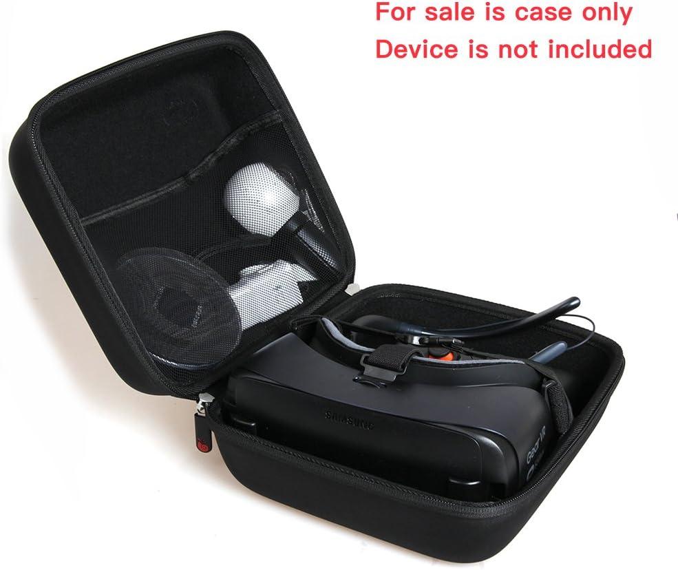 Pour Samsung Gear VR Casque de r/éalit/é virtuelle dur de stockage EVA couverture Housse /étui de Hermitshell