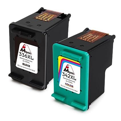 Mipelo Remanufacturado HP 336XL 342XL 336 342 Cartuchos de tinta ...