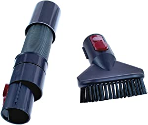 Dyson Carry Clean and Kit, Quick Release Extension Hose, Stubborn Dirst Brush and Carry Bag