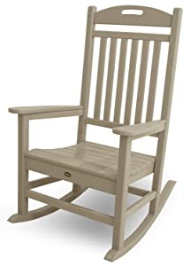 Trex Outdoor Furniture Yacht Club Rocker Chair, Sand Castle