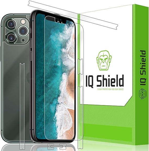 5.8 inch + Anti-Glare IQ Shield Matte Full Body Skin Compatible with Apple iPhone 11 Pro Screen Protector and Anti-Bubble Film Full Coverage