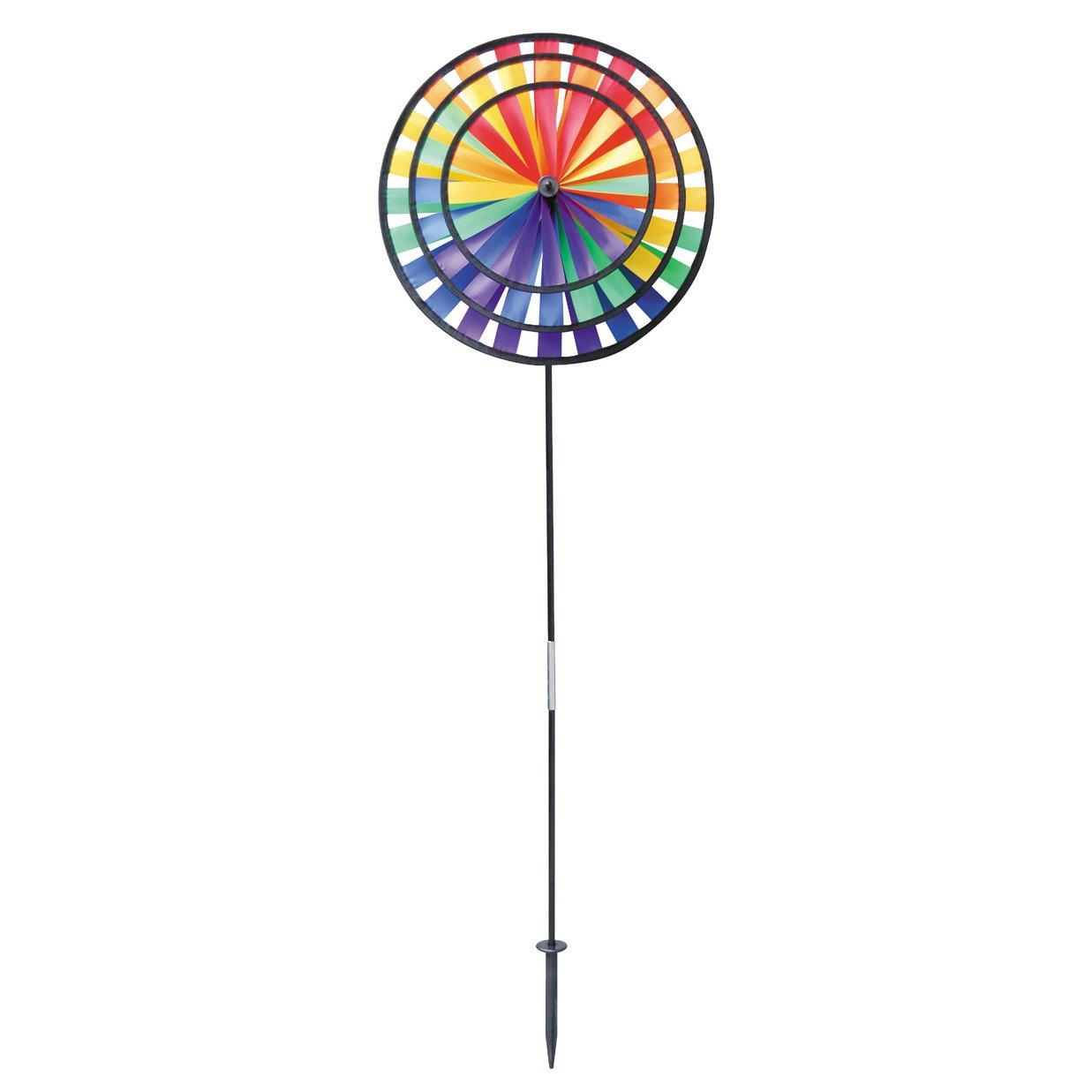 Gardener's Select A144 Pin Wheel, 7 by 14'', Multicolor
