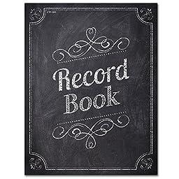 Creative Teaching Press Chalk It Up! Record Book, Black/White (1351)