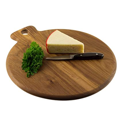 Buy Make In Modern Acacia Wood Cutting Serving Chopping Board 1 Piece Brown Online At Low Prices In India Amazon In
