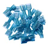 Yueton 100pcs Female Fully Insulated Wire Crimp
