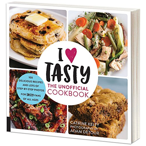 I Love Tasty Softcover Cookbook - Over 200 Pages - From Browser To Counter