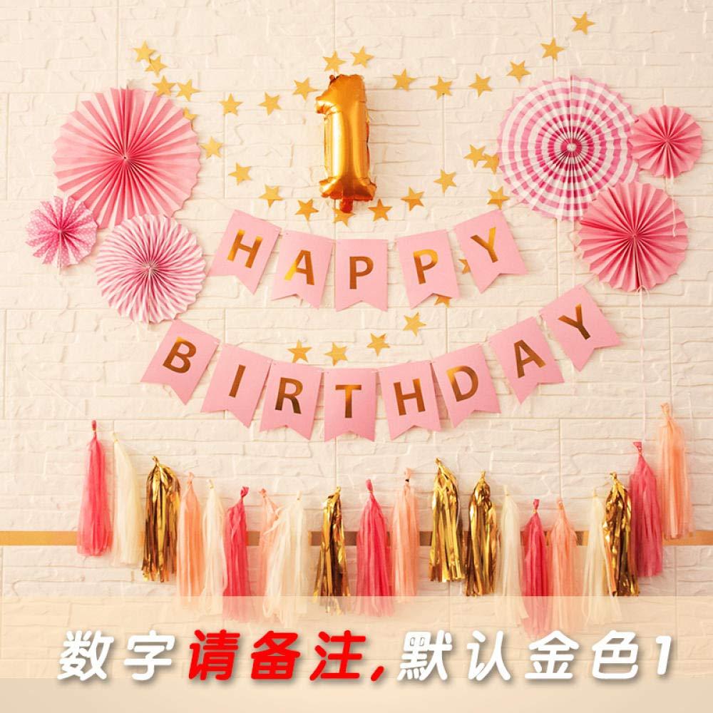 Decoración de cumpleaños decoración de Fiesta de cumpleaños ...