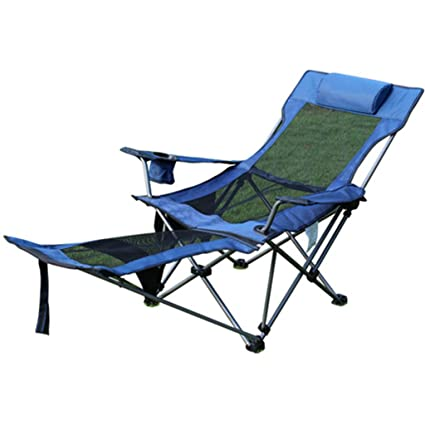 Silla plegables al aire libre en la silla reclinable silla ...