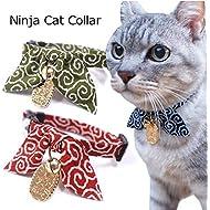 Necoichi Ninja Cat Collar (Green)