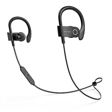 Auriculares Bluetooth, Auriculares In-Ear, Auriculares Inalámbricos Bluetooth 4.1, con Micrófono,