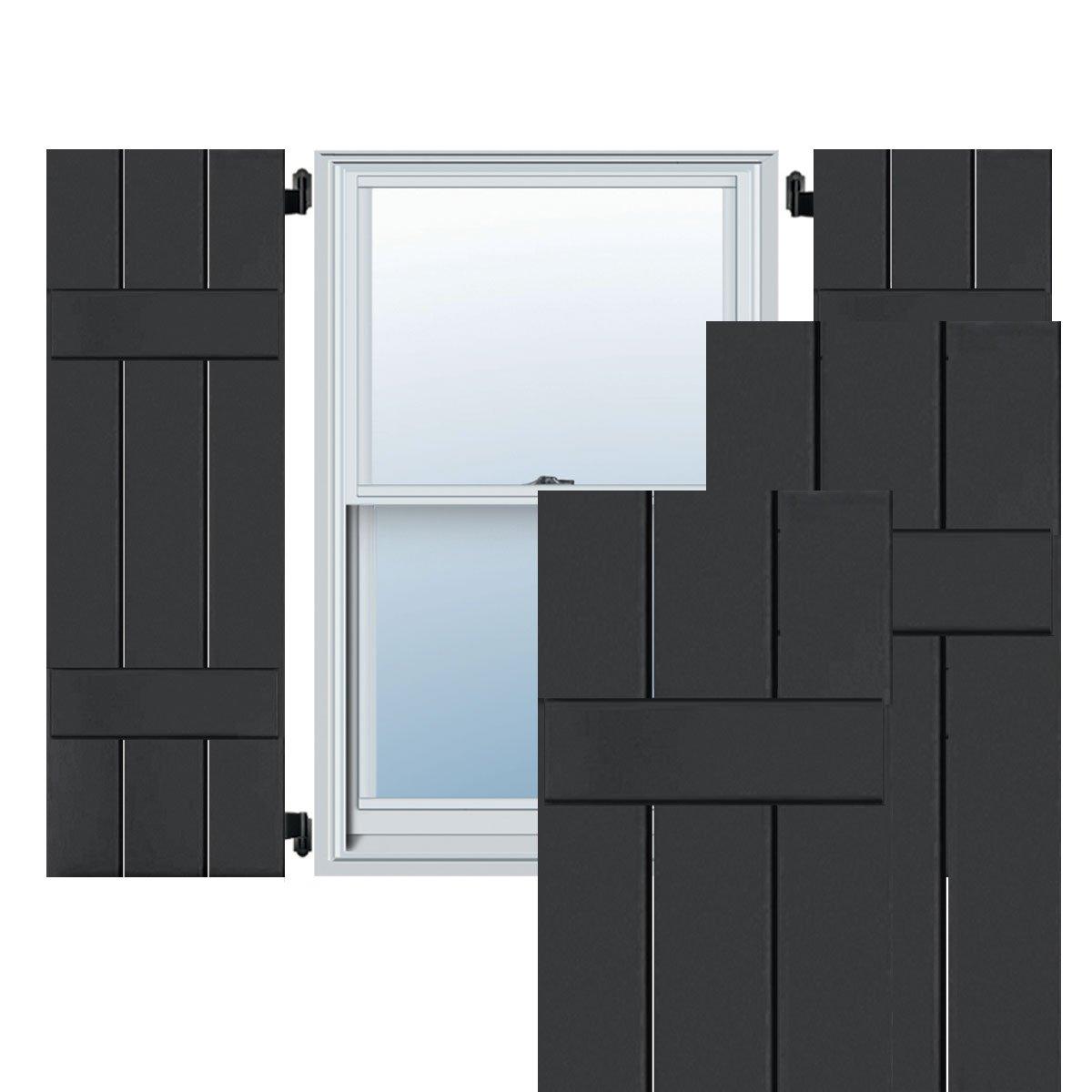 Ekena Millwork CWB12X060BLC Exterior Three Board