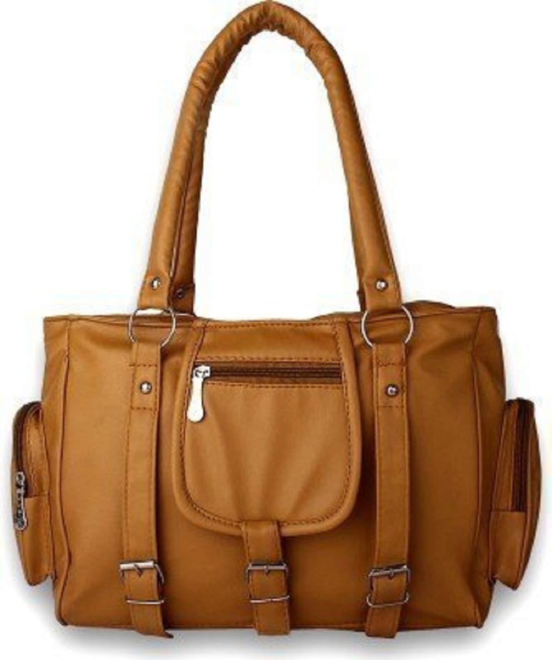 TipTon Fashion Women Handbags in Very Beautiful Tan Color with New Model I-101