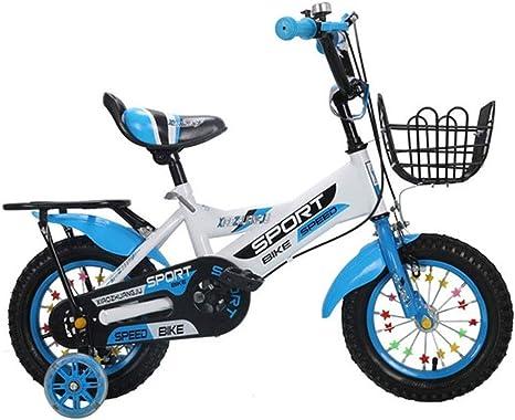 K-G Bicicleta Infantil Bicicletas niños, Acero Bicicleta de ...