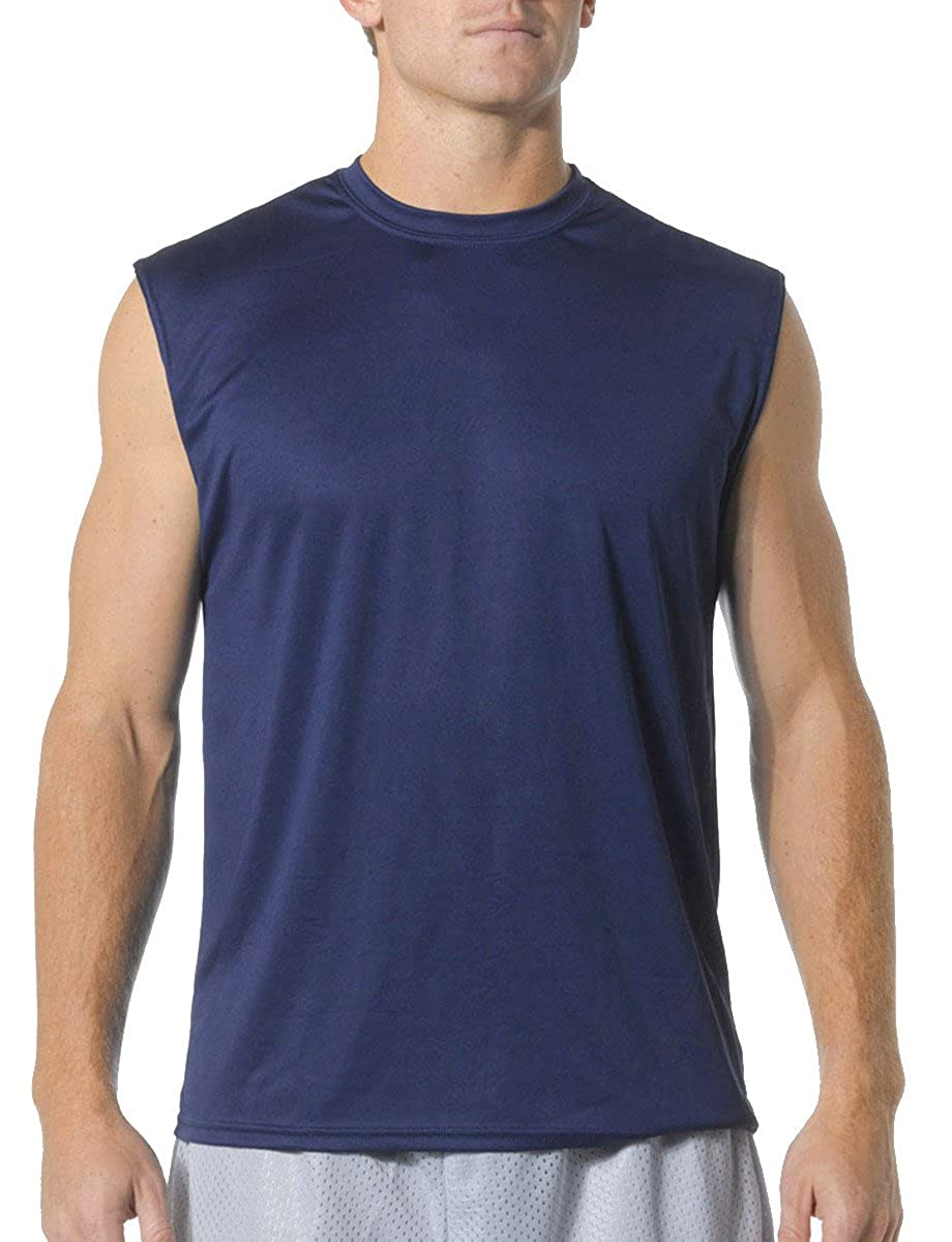 9a9d1446 Amazon.com: A4 Men's Cooling Performance Muscle: Clothing