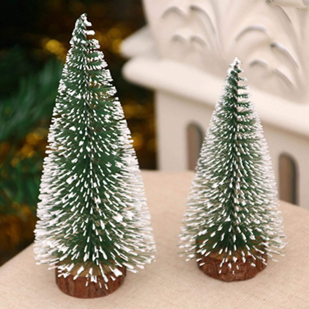 gensit Finestra da Tavolo Mini Cedar Tree Christmas Decora Ciondoli e Pendenti