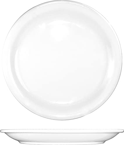 ITI-BR-9 Porcelain Brighton 9-1/2-Inch Plate  sc 1 st  Amazon.com & Amazon.com | ITI-BR-9 Porcelain Brighton 9-1/2-Inch Plate 24-Piece ...