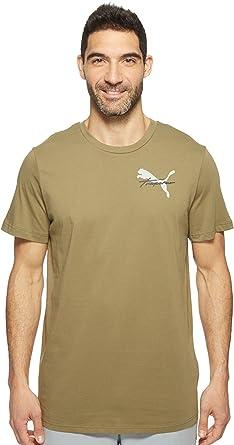 7b79cd0d2c107c PUMA Men s PUMA X Trapstar Tee Burnt Olive T-Shirt