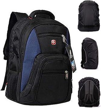 Freeship Swiss Wateproof Laptop Backpack Computer Notebook School Travel red Bag