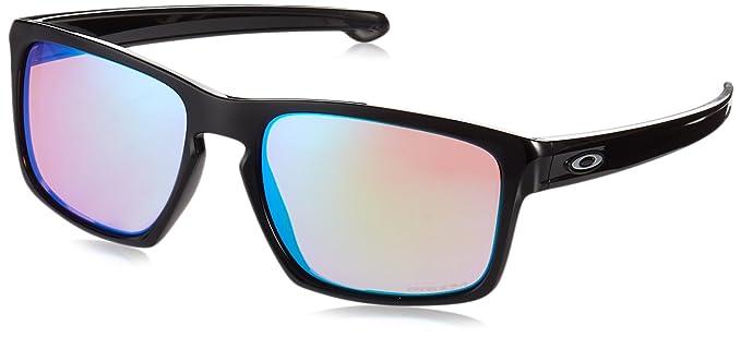 Oakley Sliver 926239 Gafas de sol, Polished Black, 57 para Hombre