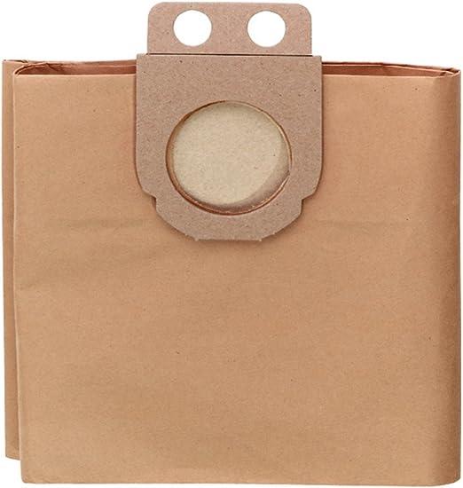 Metabo 631935000 - Bolsas filtro de papel (5 unidades, 25 L ...