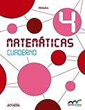 Matemáticas 4. Cuaderno. (Aprender es crecer en conexión) - 9788467879001
