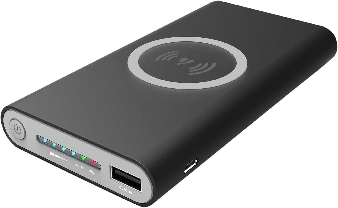 Jarv - Cargador portátil de 10.000 mAh con cargador USB externo y puerto de carga tipo C rápido y pantalla LED: Amazon.es: Electrónica